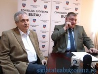 Dr. Marius Anastasiu si presedintele CJ, Cristi Bigiu