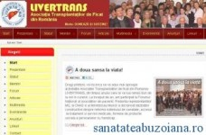 Noul site LIVERTRANS