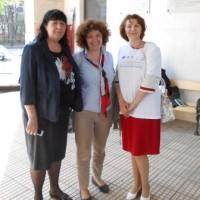 Dr. Crina Stefanescu (dreapta)