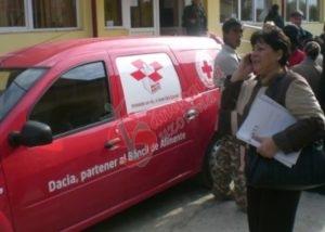 Crucea Roșie, în misiune caritabilă la Săgeata