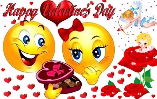 smiley valentines