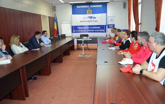 negocieri sanitas – ministerul muncii