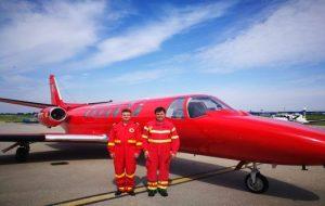 Aeronava SMURD donată de Ion Țiriac își reia activitatea