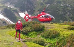 Peste 3.300 de turiști, preluați de pe munte cu ambulanțele și elicopterele SMURD
