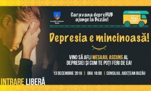 Despre psihoeducație în depresie și anxietate, astăzi, la Consiliul Județean Buzău