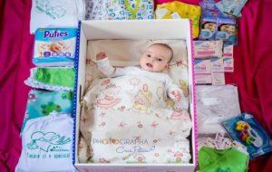 Campanie de donații pentru programul Cutia Bebelușului