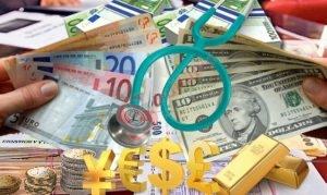 Ușoară depreciere a euro