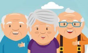 Bunici zâmbăreți