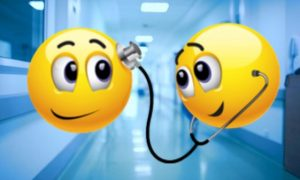 Zâmbete… la spital