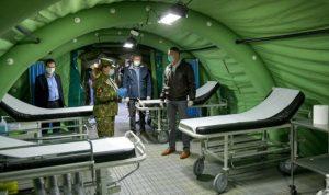 Spitalul militar modular ROL-2 din Otopeni, pentru tratarea cazurilor de infecție cu COVID-19,  este funcțional
