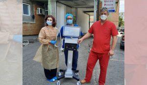 Un ventilator mecanic performant, donat Spitalului Județean Buzău