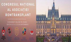 Peste 300 de participanți la prima ediție on-line a Congresului Romtransplant