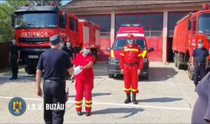 Prima ambulanță SMURD pentru Stația de Pompieri de la Mărunțișu