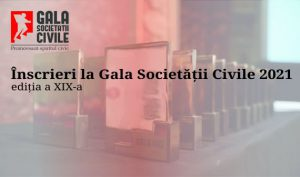 Gala Societății Civile, la startul celei de-a 19-a ediții
