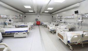 Spitalul modular de la Lețcani se redeschide sub conducere militară